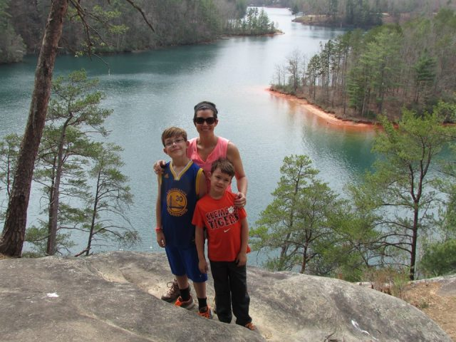 Top of Raven Rock - The Family Glampers