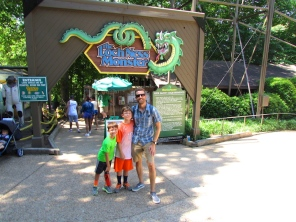 Loch Ness Monster Busch Gardens Willamsburg - The Family Glampers