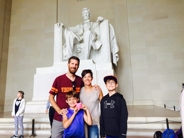 Touring Lincoln Memorial - The Family Glampers