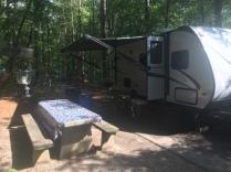 Lake Powhatan Campground Site 51